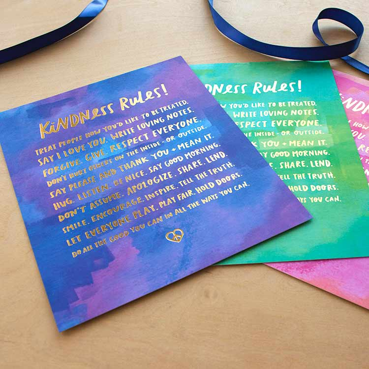 Foil Stamped Art Print