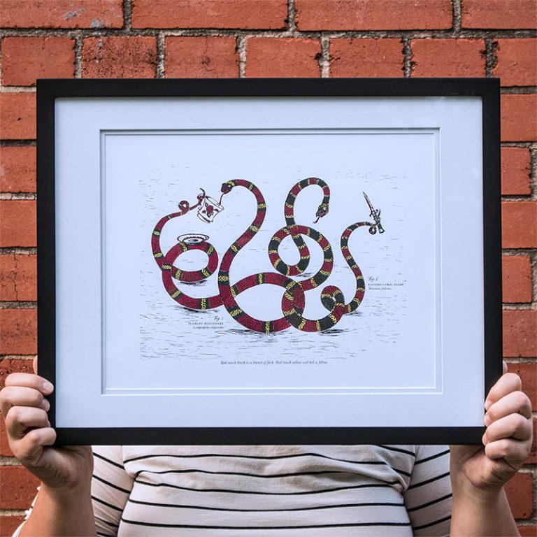 Letterpress Art Print