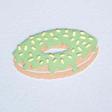 Gold Foil Letterpress Greeting Card